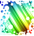 Rainbow multicolored bright background vector