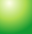 Design pattern green waves abstract light vector