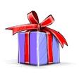 Present box cartoon sketch vector