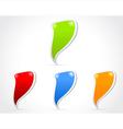 Design of messenger window icon vector