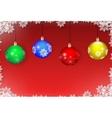 Christmas toys vector