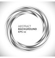 Abstract black and white swirl circle background vector