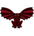 Gargoyle red vector