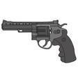 Big revolver vector