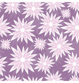 Grunge seamless flower background vector
