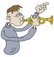 Trumpeter vector