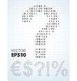 Binary code symbols vector