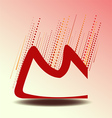 Design letter m vector