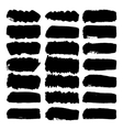 Grunge brush strokes vector