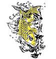 Fish tattoo vector