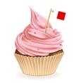 Maltese cupcake vector