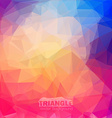 Abstract geometric colorful background vector