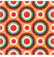 Seamless circles polka dots pattern vector
