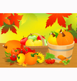 Autumn abundance vector