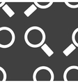 Search magnifier web icon flat design seamless vector