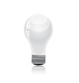 Light bulb isolated on white vector