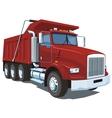 Dump truck vector