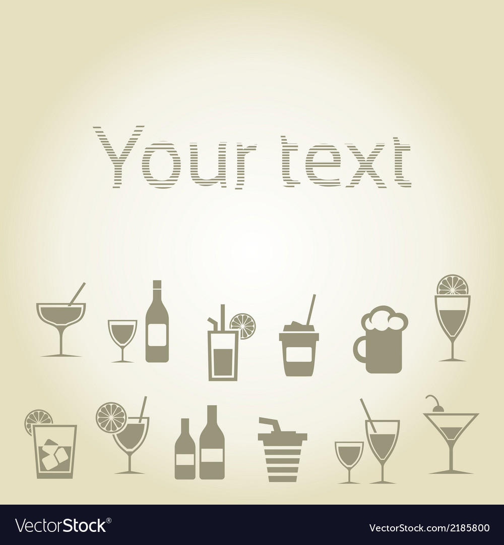 Alcohol2 vector | Price: 1 Credit (USD $1)