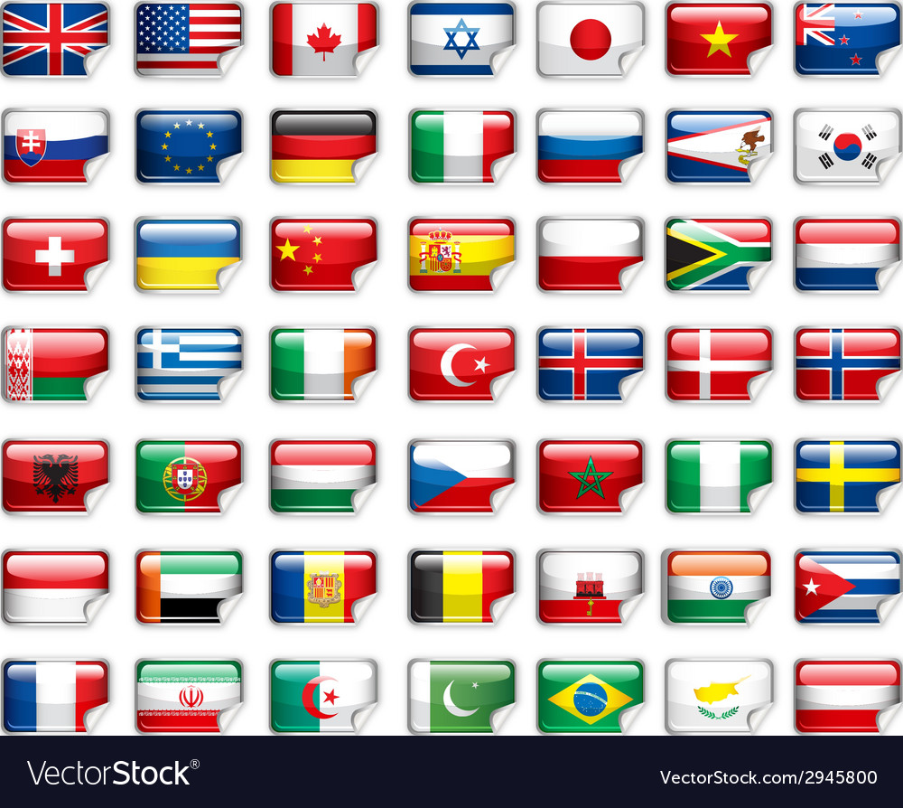 Flags add vector | Price: 1 Credit (USD $1)