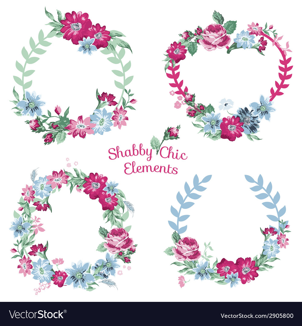 Flower banners and tags vector | Price: 1 Credit (USD $1)