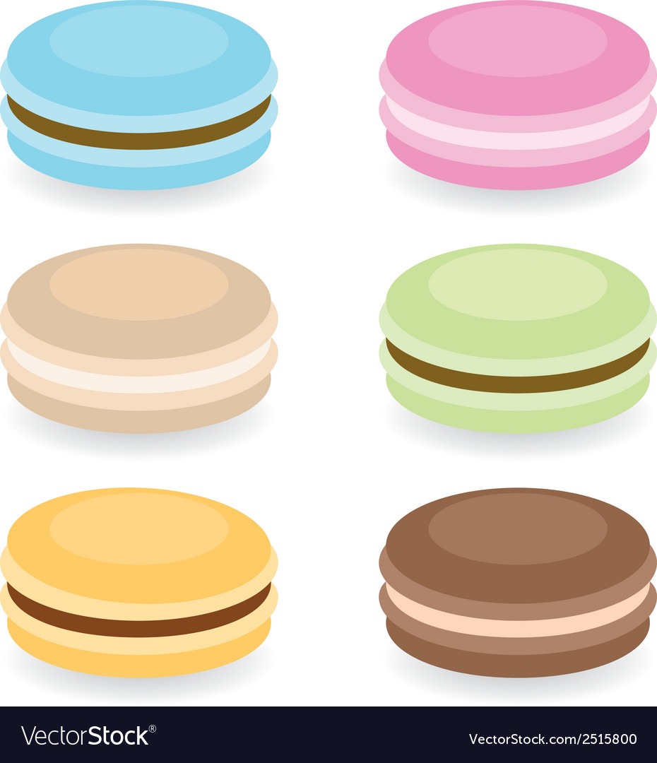 Macraroons vector | Price: 1 Credit (USD $1)