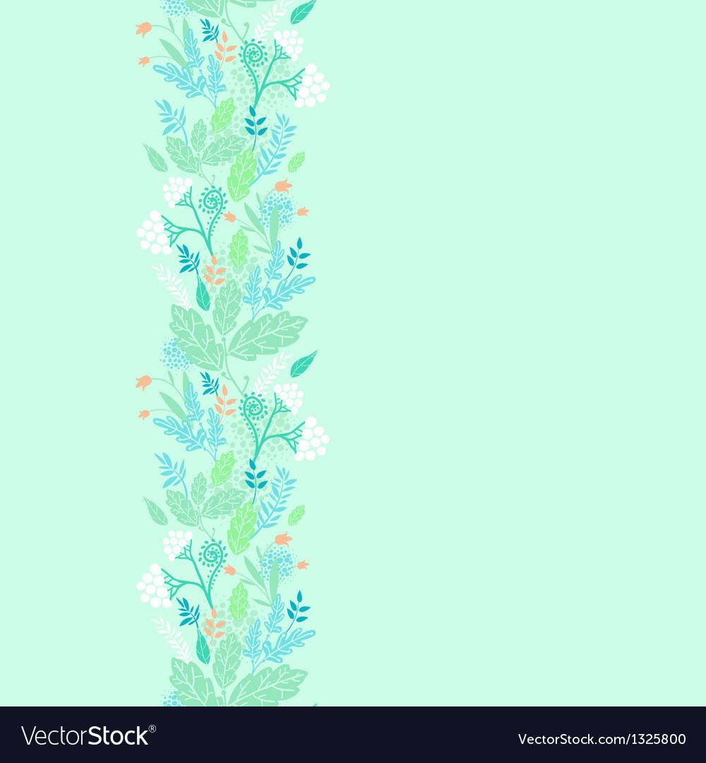 Spring berries vertical seamless pattern vector   Price: 1 Credit (USD $1)