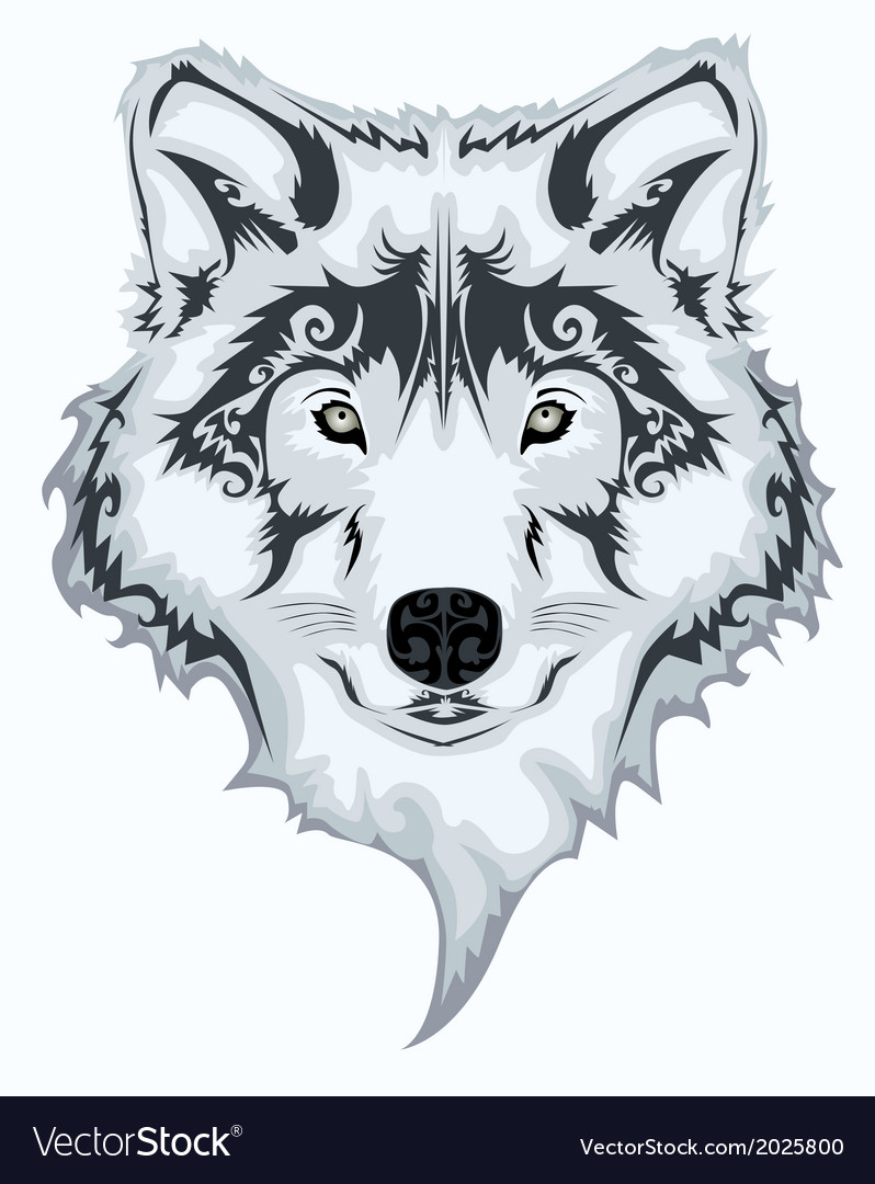 Wolf design vector | Price: 1 Credit (USD $1)