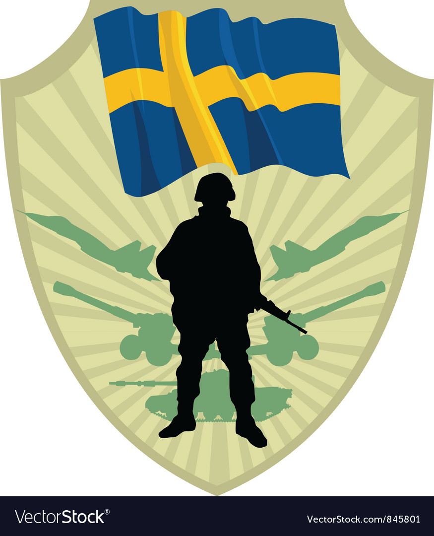 Army of sweden vector | Price: 1 Credit (USD $1)