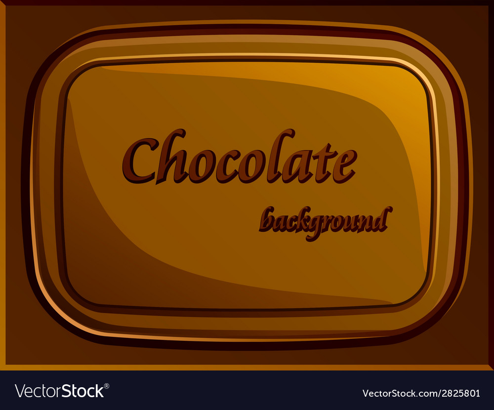 Stylish chocolate bar vector | Price: 1 Credit (USD $1)