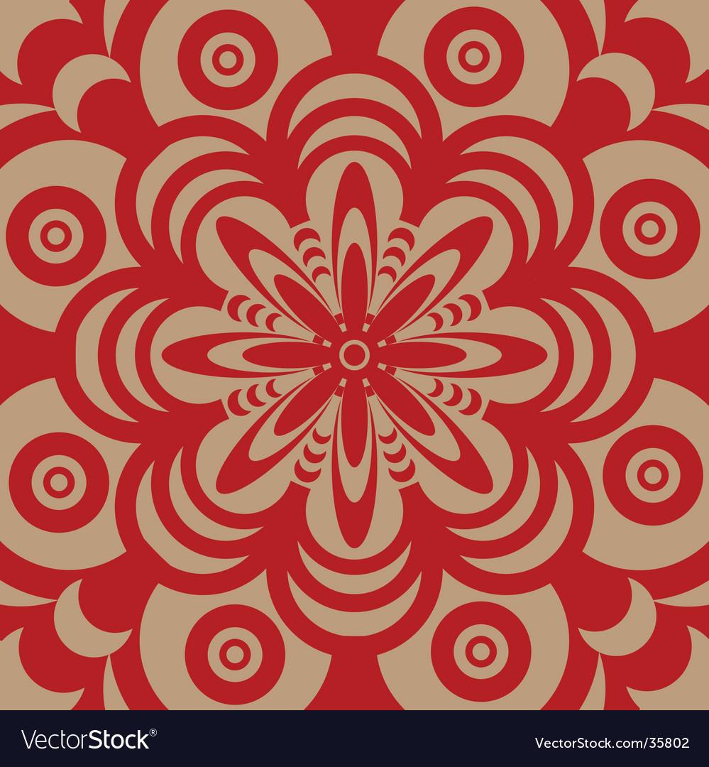 Sixties wallpaper design vector | Price: 1 Credit (USD $1)