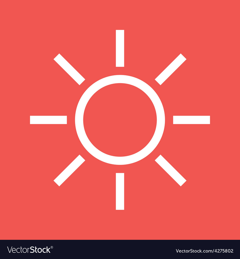 Sunny weather vector | Price: 1 Credit (USD $1)