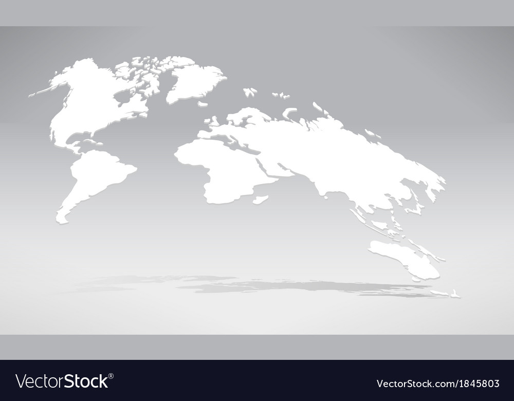 3d world map 02 vector | Price: 1 Credit (USD $1)