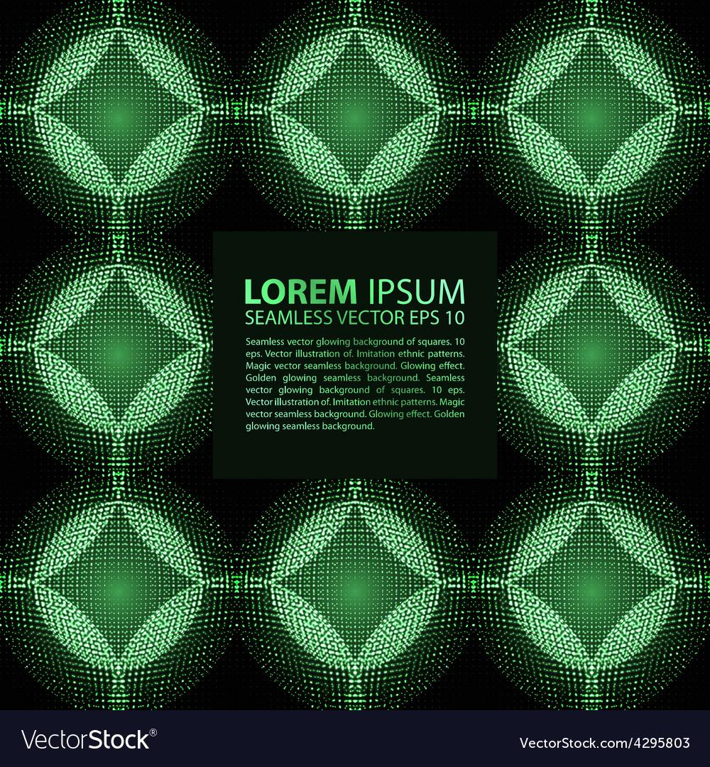 Abstract seamless blue green metallic viking like vector | Price: 1 Credit (USD $1)