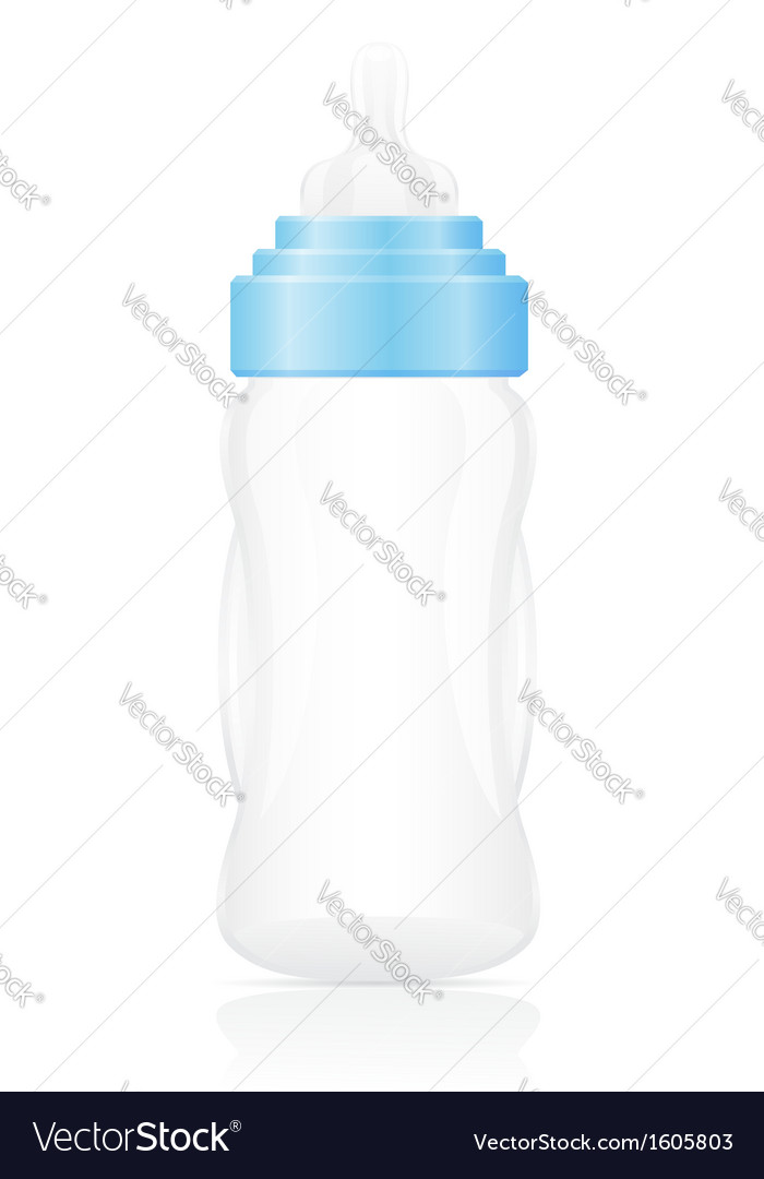 Baby bottle 02 vector | Price: 1 Credit (USD $1)