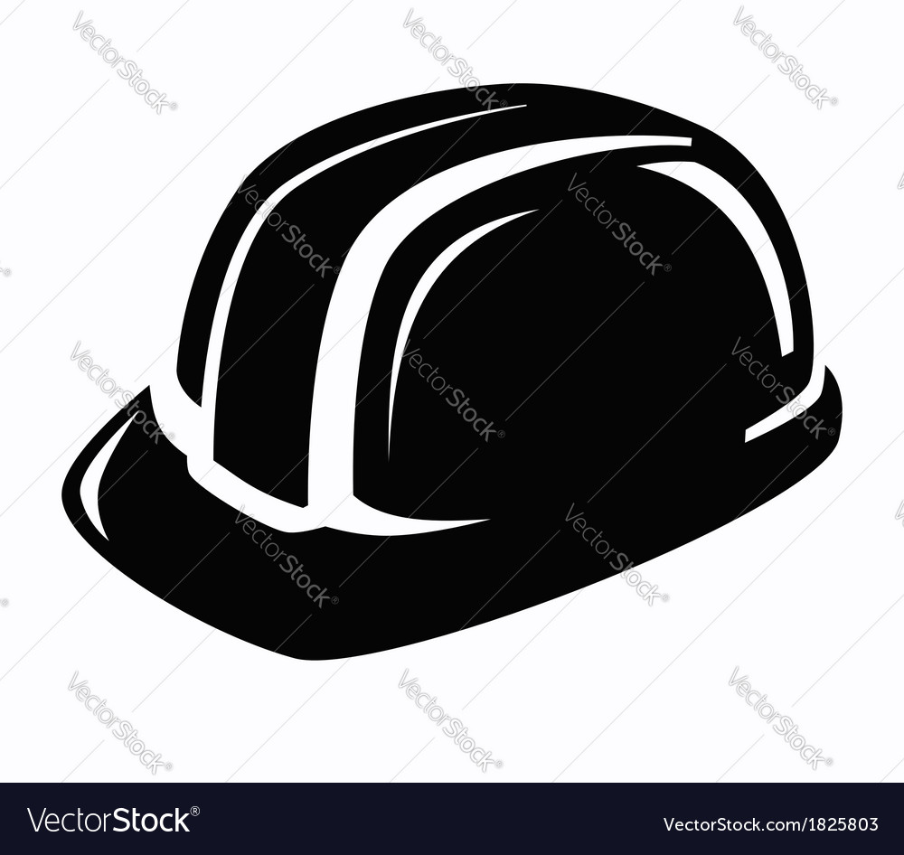 Construction helmet icon vector | Price: 1 Credit (USD $1)