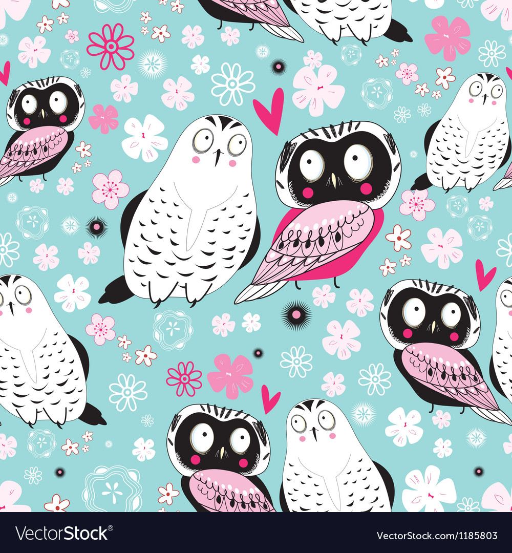 Stok vektor fabulous owlss vector | Price: 1 Credit (USD $1)