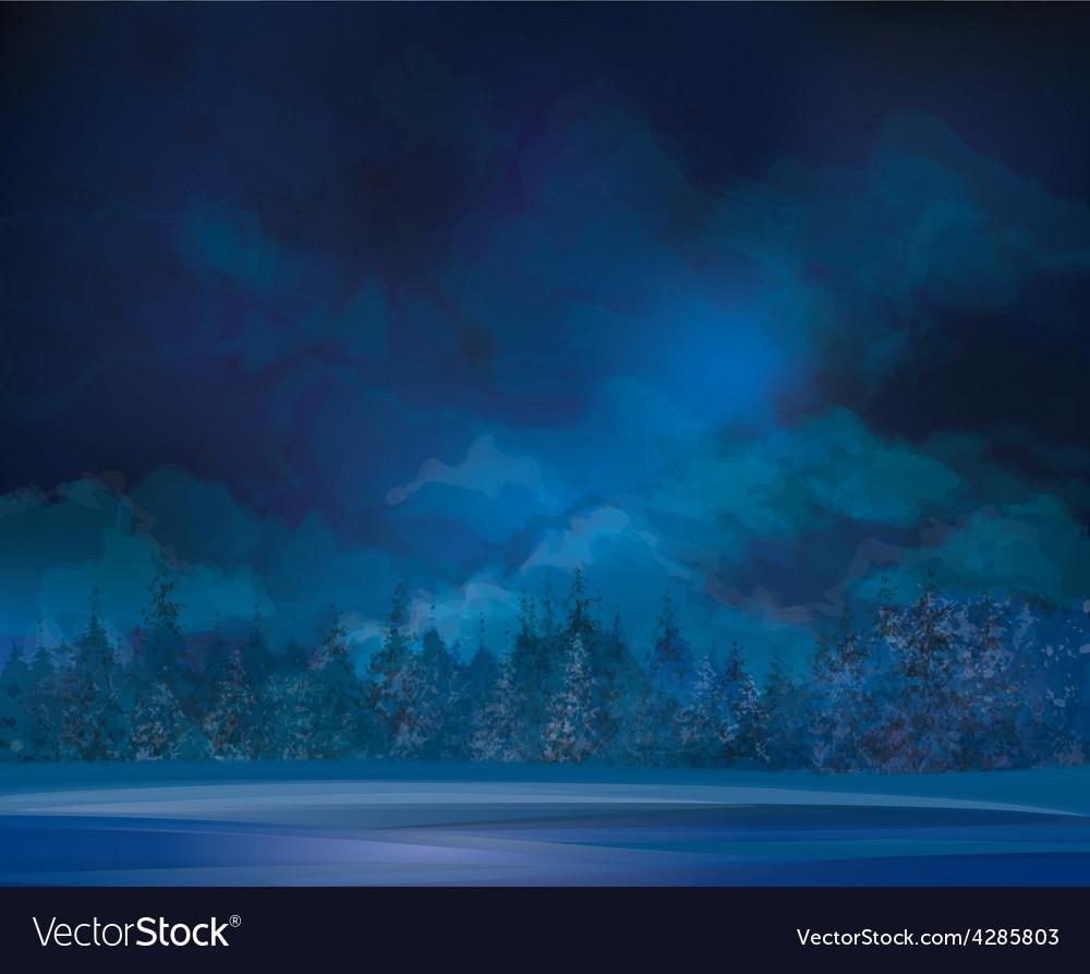 Winter background vector | Price: 3 Credit (USD $3)