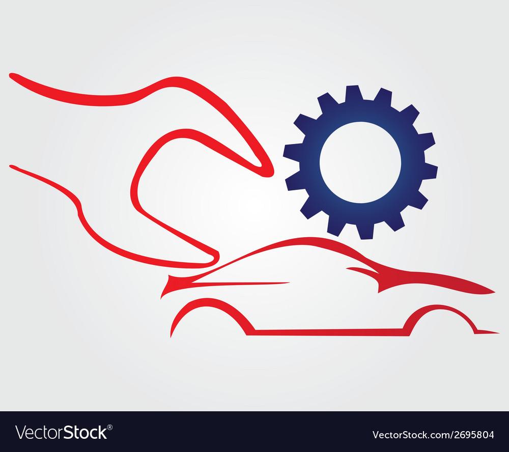 Car repairing logo vector | Price: 1 Credit (USD $1)