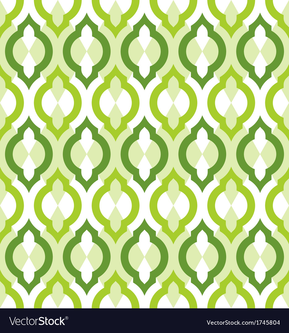 Seamless pattern moroccan style vector | Price: 1 Credit (USD $1)