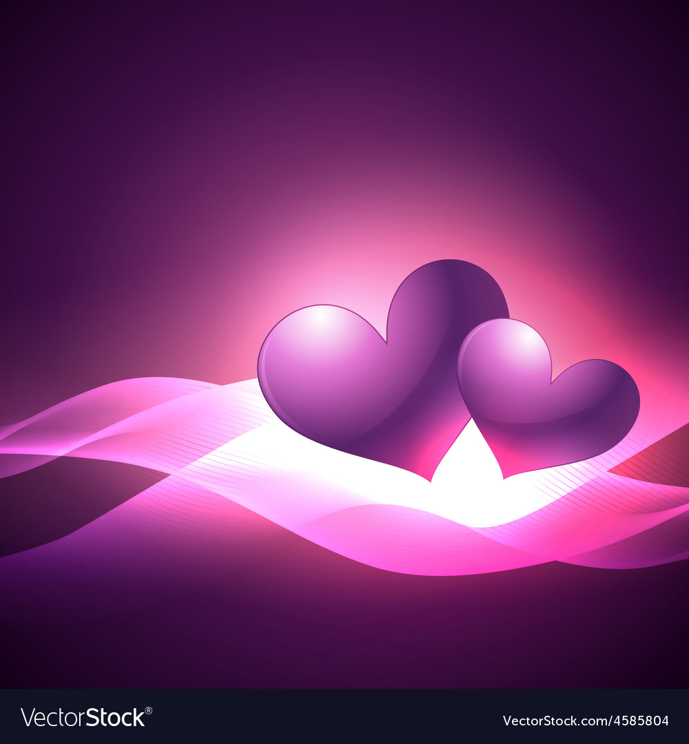Simple and attractive heart background vector | Price: 1 Credit (USD $1)