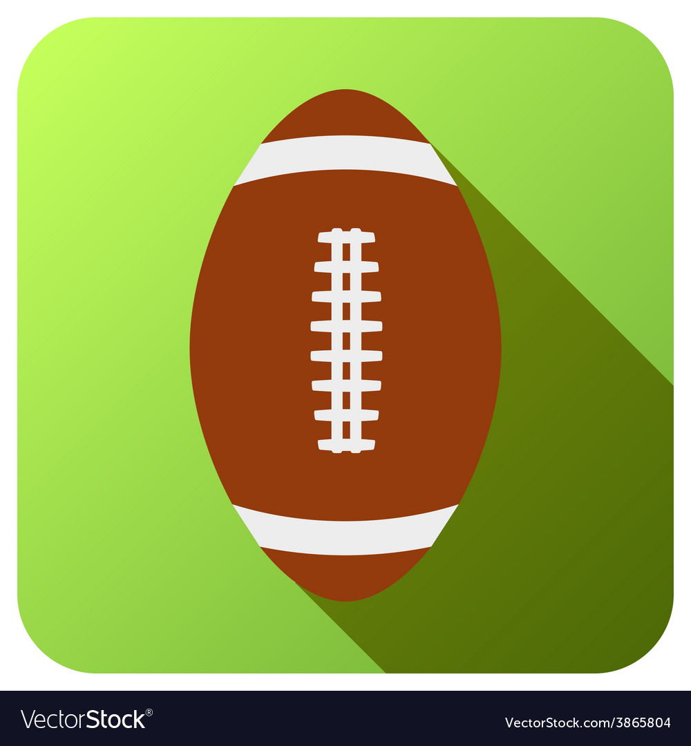 Sport icon with baseball ball in flat style vector | Price: 1 Credit (USD $1)