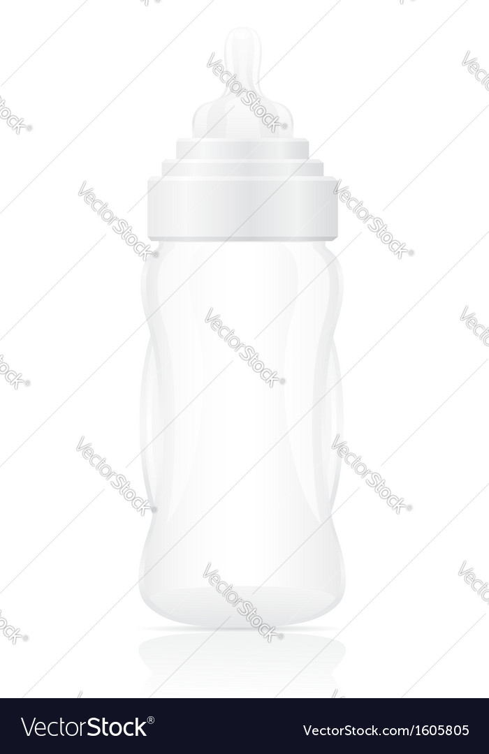 Baby bottle 03 vector | Price: 1 Credit (USD $1)