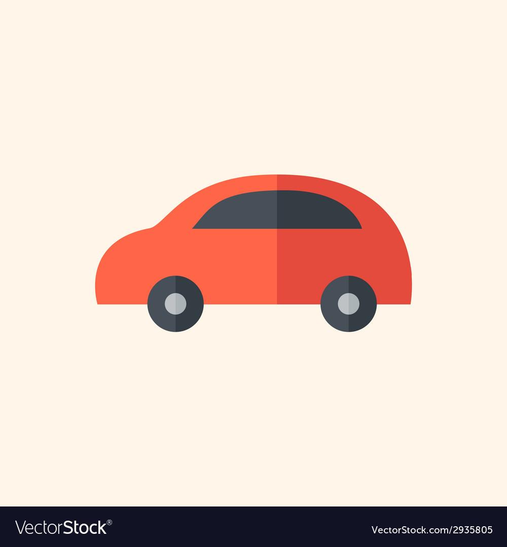 Car flat icon vector   Price: 1 Credit (USD $1)