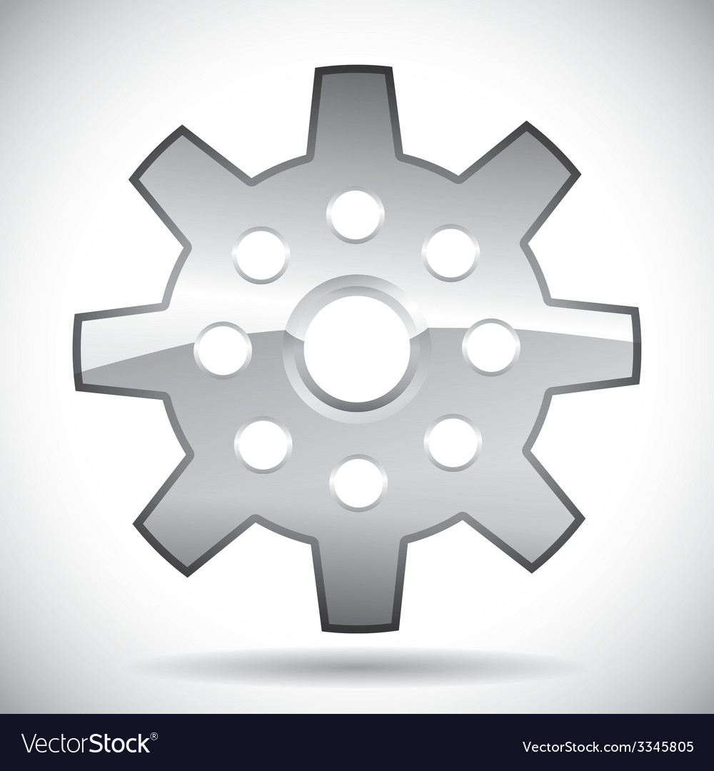 Gear design vector | Price: 1 Credit (USD $1)