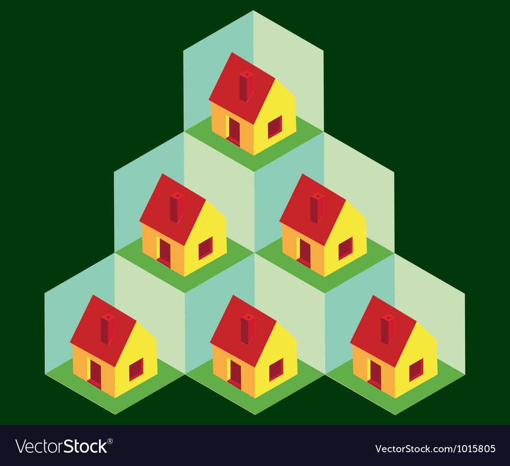 House pattern vector | Price: 1 Credit (USD $1)