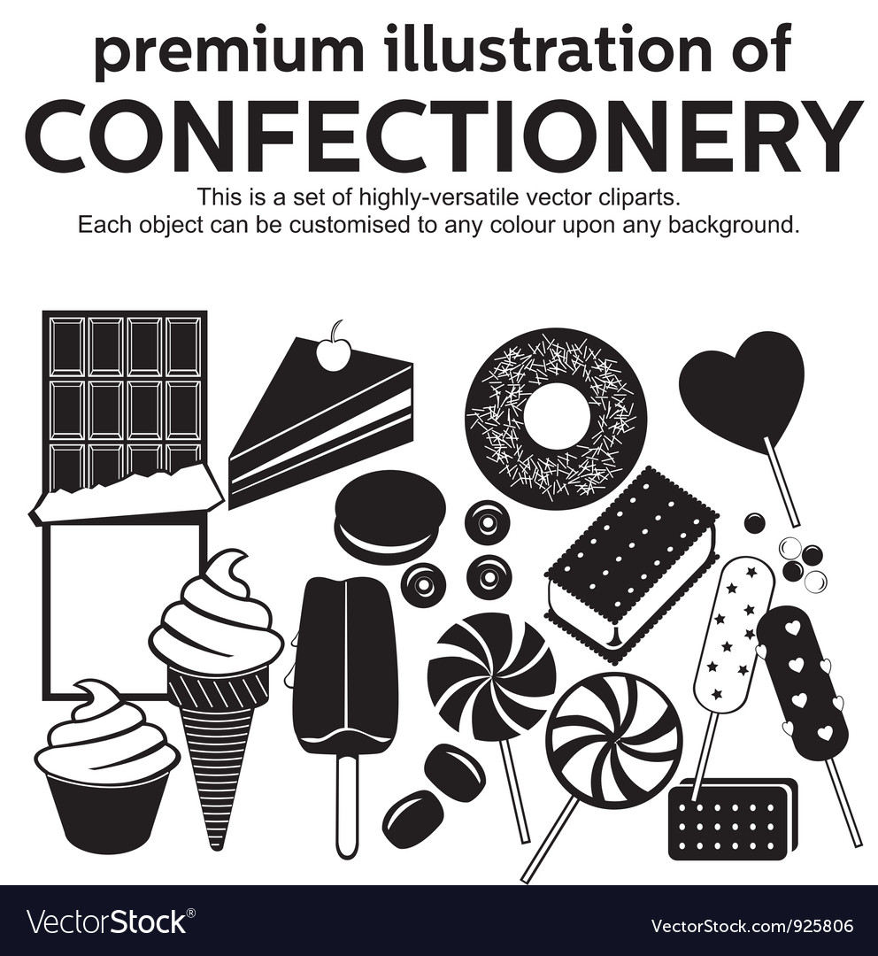 Confectionery vector | Price: 1 Credit (USD $1)