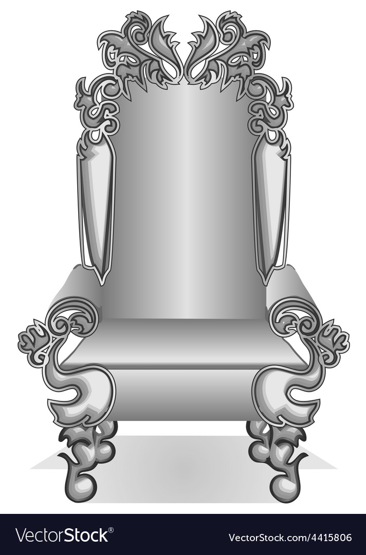 King throne vector | Price: 1 Credit (USD $1)
