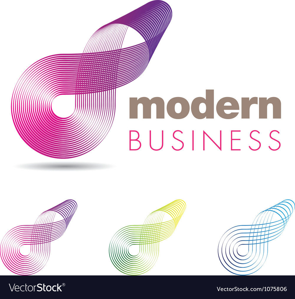 Modern business icon vector | Price: 1 Credit (USD $1)
