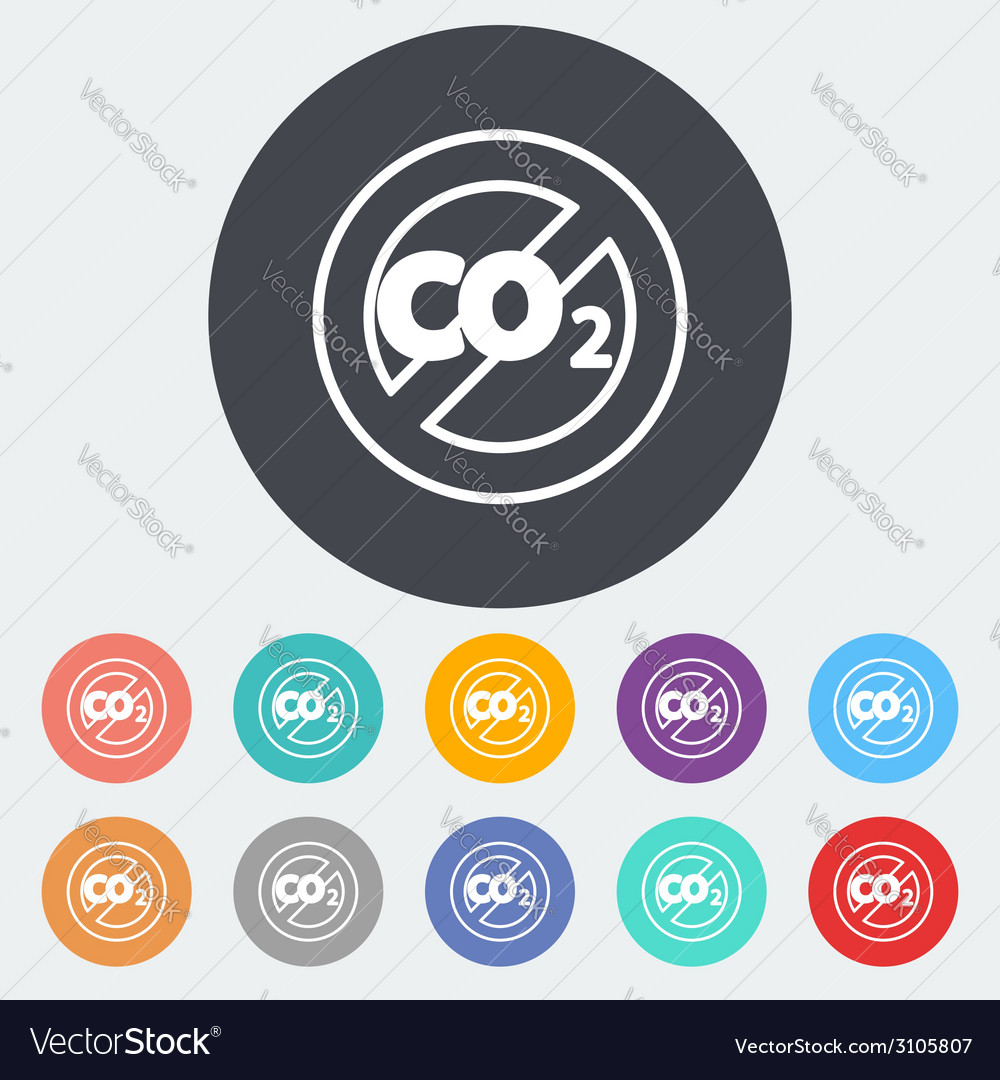 Co2 icon vector | Price: 1 Credit (USD $1)
