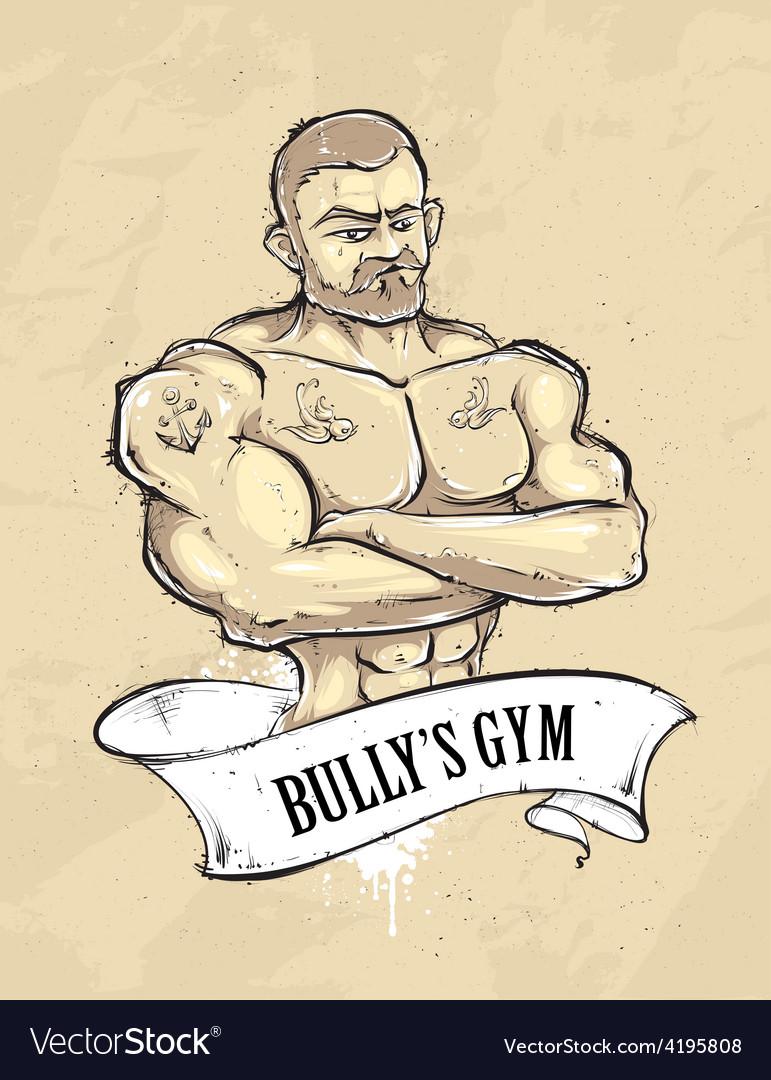 Bullys gym vector